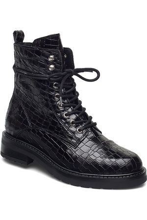 Pavement Charley Croco Shoes Boots Ankle Boots Ankle Boot - Flat