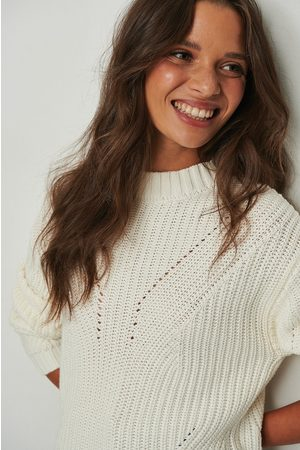 NA-KD Pattern Detail Knitted Sweater