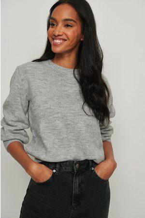 NA-KD Dame Strikkegensere - Round Neck Knitted Sweater