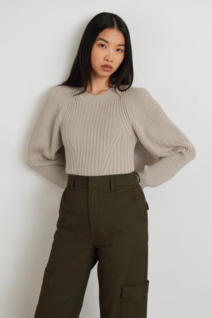 Gina Tricot Dame Strikkegensere - Camille knitted sweater