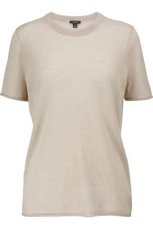 Joseph Dame Kortermede - Cashair cashmere T-shirt