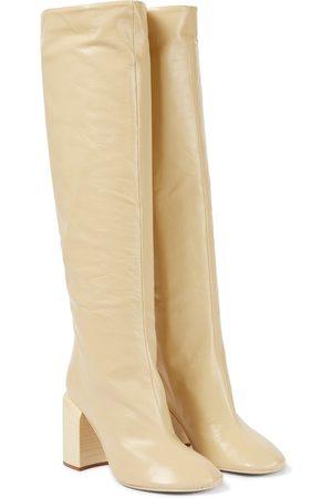 Jil Sander Dame Høye støvletter - Leather knee-high boots