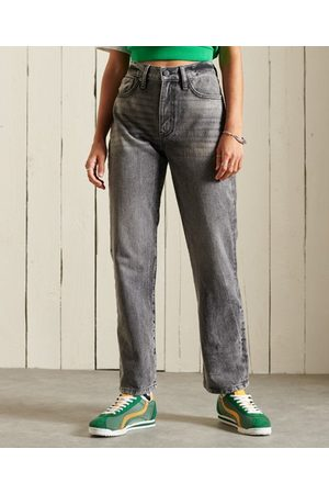 Superdry Dame High waist - High Rise Straight-jeans