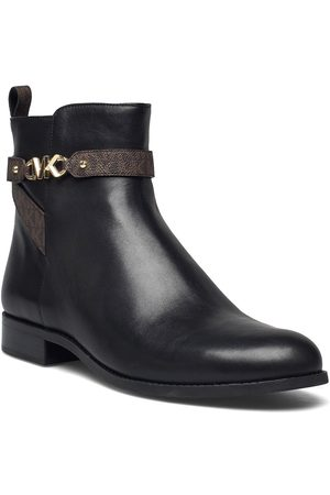 Michael Kors Farrah Flat Bootie Shoes Boots Ankle Boots Ankle Boot - Flat