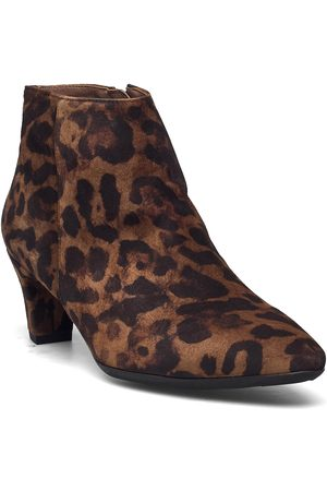 Wonders Dame Skoletter - I-8421 Shoes Boots Ankle Boots Ankle Boot - Heel