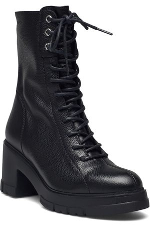 Wonders Dame Skoletter - H-4422 Shoes Boots Ankle Boots Ankle Boot - Heel