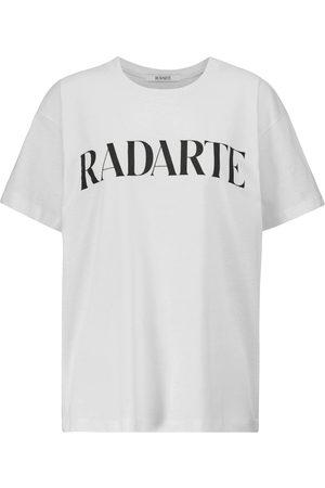 Rodarte Radarte-printed oversized T-shirt