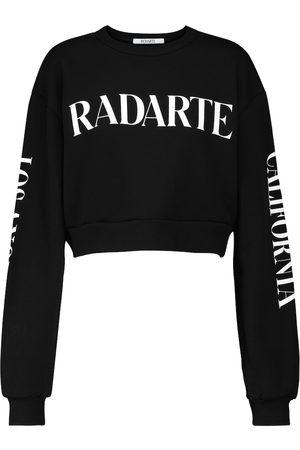 Rodarte Radarte cotton-blend crop sweatshirt