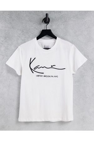 Karl Kani Relaxed t-shirt with front logo-White