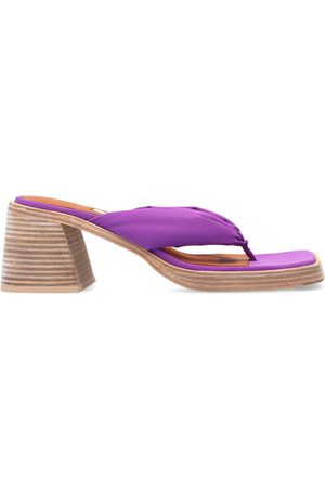 Miista April heeled flip-flips