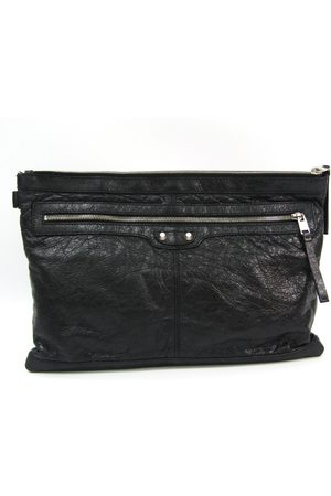 Balenciaga Vintage Pre-owned Classic Classic Clip L Arena 273023 Leather Clutch Bag
