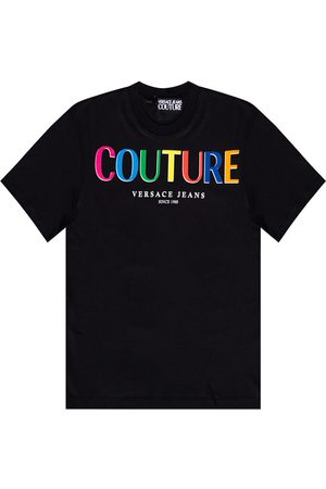 VERSACE Logo-printed T-shirt
