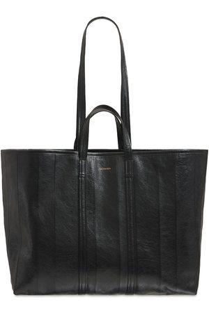 BALENCIAGA Barbes Large Leather Tote Bag