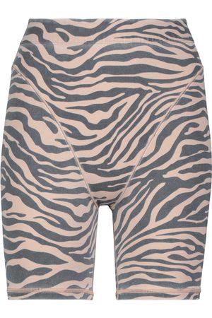 Adam Selman Sport French Cut zebra-print biker shorts