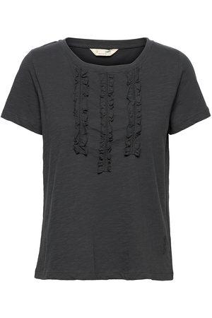 Odd Molly Cassidy Top T-shirts & Tops Short-sleeved Blå