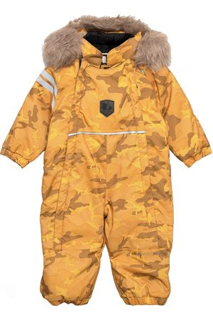 Lindberg Sweden Camo Baby Overall Outerwear Snow/ski Clothing Snow/ski Suits & Sets