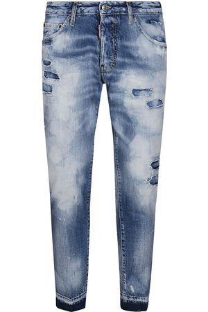 Dsquared2 Herre Straight - Light Disfatto Wash Cool Guy Cropped Jean