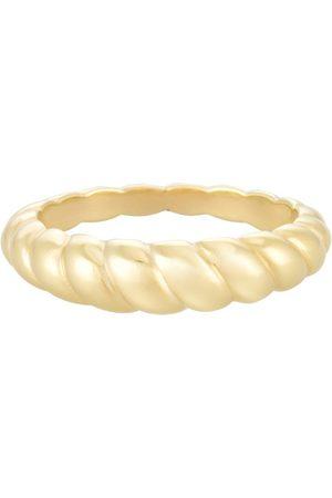 PapayaOslo Golden Petit Croissant Ring