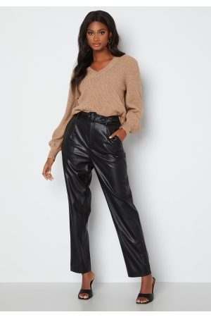 ONLY Lucy Faux Leather Pant Black XS