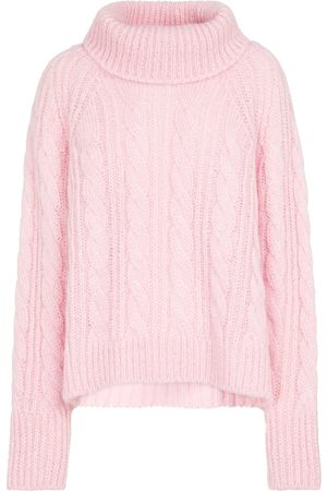 Cecilie Bahnsen Grayson cable-knit mohair and silk sweater