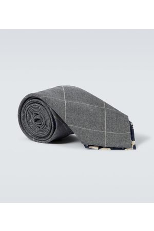 BRAM Corniglia wool tie