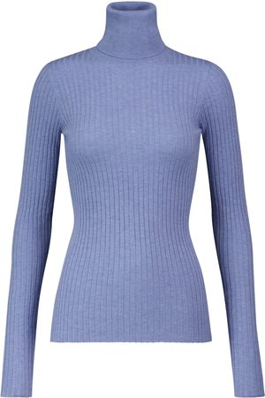 DODO BAR OR Ribbed-knit turtleneck sweater