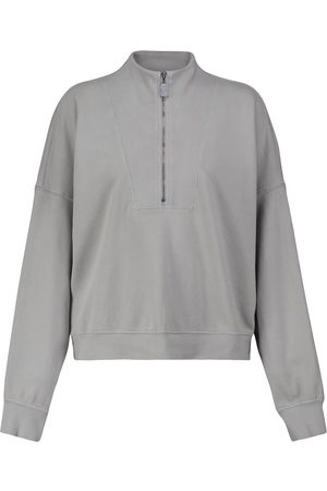 Velvet Roxie long-sleeved cotton sweatshirt
