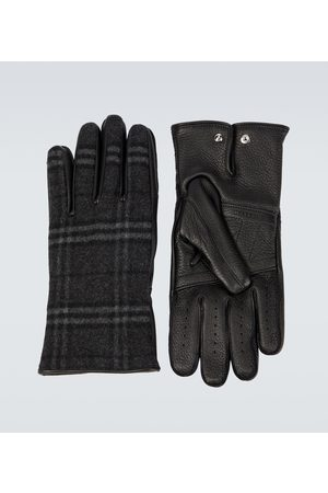Burberry Cashmere and wool blend gloves