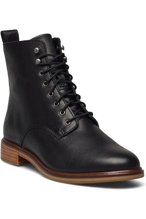 Clarks Dame Skoletter - Clarkdale Lace Shoes Boots Ankle Boots Ankle Boot - Flat