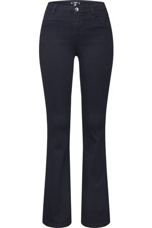 Missguided Dame Bootcut - Jeans 'BLACK LAWLESS FLARE JEAN
