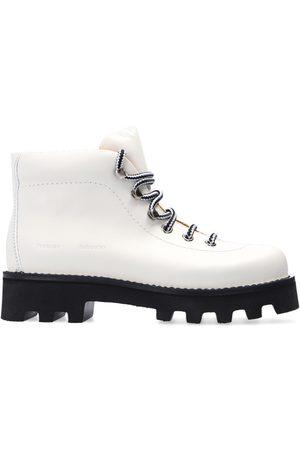 Proenza Schouler Heidi Folk boots with logo