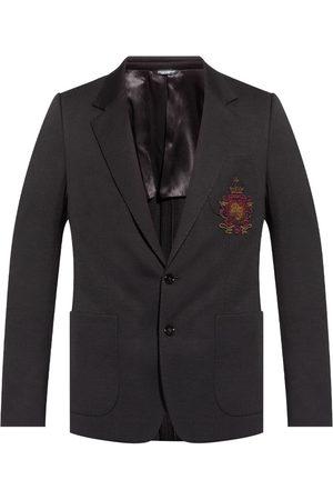 Dolce & Gabbana Wool blazer with patch
