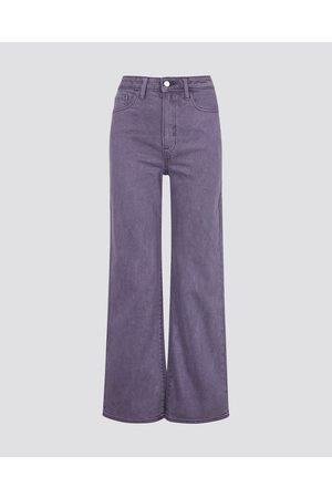 Cubus Dame Jeans - Wide Fit May jeans - Lys