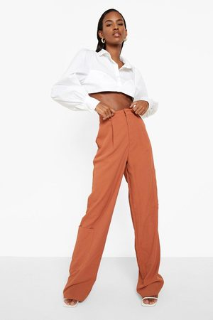 Boohoo Straight Leg Tailored Cargo Trouser