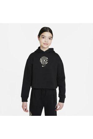 Nike Jente Treningsgensere - Sportswear frottéhettegenser til store barn (jente)