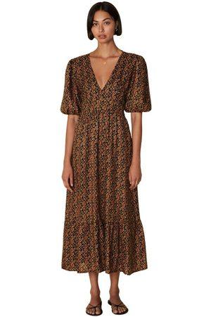 FAITHFULL THE BRAND Romilla Midi Dress