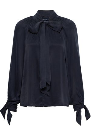 French Connection Alto Drape L/S Popover Top Bluse Langermet