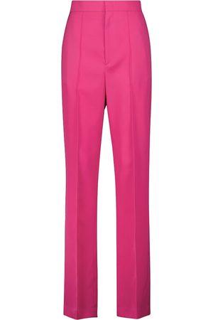 Isabel Marant Lirokia high-rise wool pants