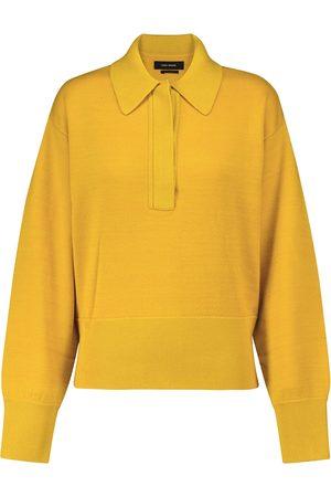 Isabel Marant Heron wool-blend polo sweater