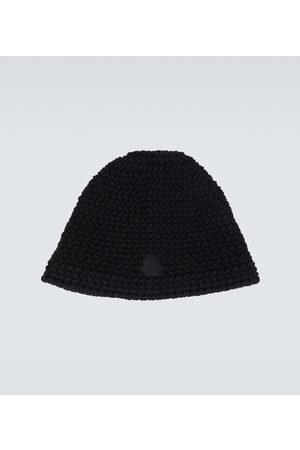 Moncler Genius 2 MONCLER 1952 wool logo knitted hat