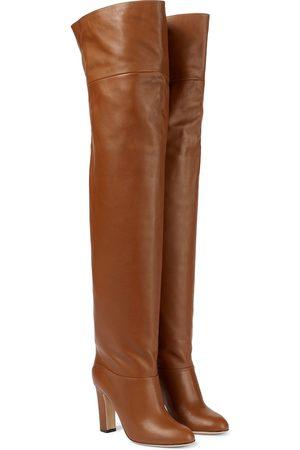 PARIS TEXAS Dame Høye støvletter - Kiki over-the-knee leather boots