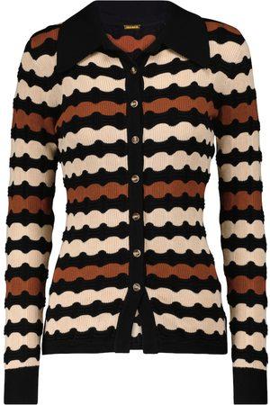 DODO BAR OR Striped jacquard top