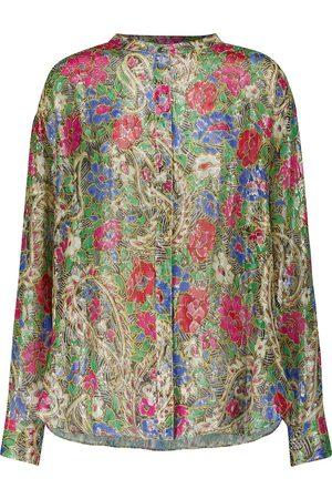 Isabel Marant Dame Bluser - Daws printed silk-blend blouse