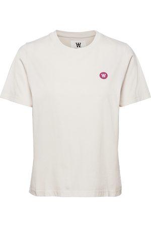 WoodWood Dame Kortermede - Mia T-Shirt T-shirts & Tops Short-sleeved