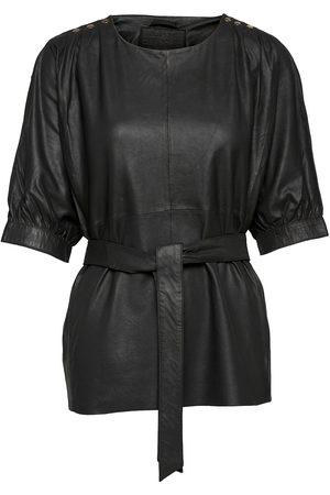 DEPECHE Top Blouses Short-sleeved