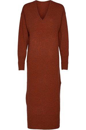 REMAIN Birger Christensen Nova Knit Dress Knelang Kjole