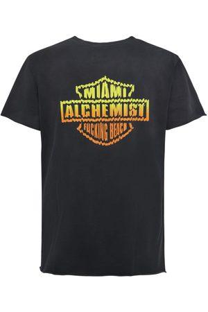 Alchemist Cotton Lincoln Mcrae Logo T-shirt