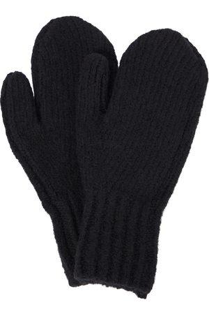 Acne Studios Wool-blend mittens