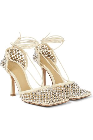 Bottega Veneta Sparkle Stretch leather sandals
