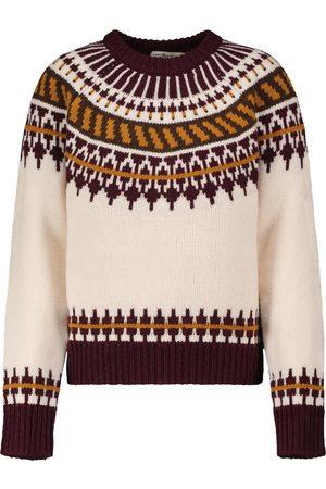 Tory Burch Fair Isle wool sweater